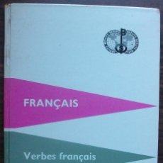 Libros: FRANÇAIS. VERBES FRANÇAIS. BERLITZ. 39ª EDITION 1959. Lote 147675506