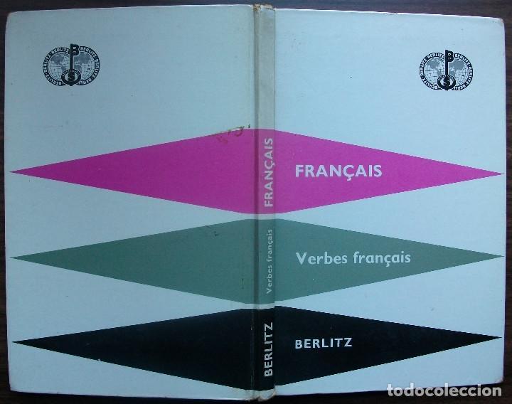 Libros: FRANÇAIS. VERBES FRANÇAIS. BERLITZ. 39ª EDITION 1959 - Foto 6 - 147675506