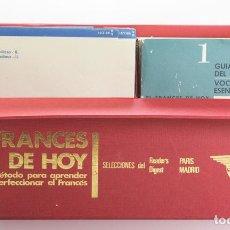 Libros: EL FRANCES DE HOY. SELECCIONES DEL READER'S DIGEST.CURSO DE FRANCES EN ESTUCHE CON LIBROS Y DISCOS. Lote 154291422