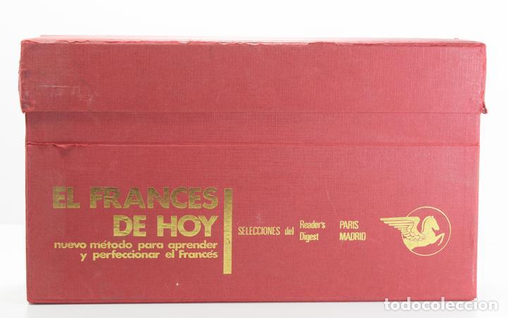Libros: EL FRANCES DE HOY. SELECCIONES DEL READER'S DIGEST.CURSO DE FRANCES EN ESTUCHE CON LIBROS Y DISCOS - Foto 3 - 154291422