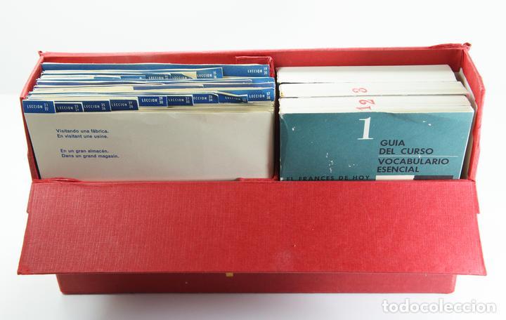 Libros: EL FRANCES DE HOY. SELECCIONES DEL READER'S DIGEST.CURSO DE FRANCES EN ESTUCHE CON LIBROS Y DISCOS - Foto 5 - 154291422