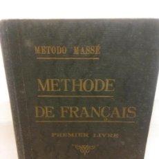 Libros: BJS.METHODE DE FRANÇAIS.CURSO PRACTICO.BRUMART TU LIBRERIA.. Lote 154800106