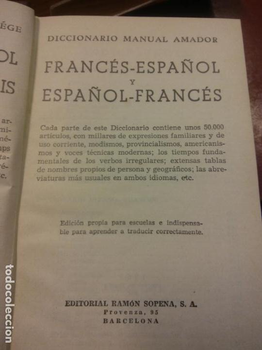 BJS.DICCIONARIO FRANCES-ESPAÑOL.ESPAÑOL-FRANCES.EDT, SOPENA.. (Neue Bücher - Sprachen - Französisch)
