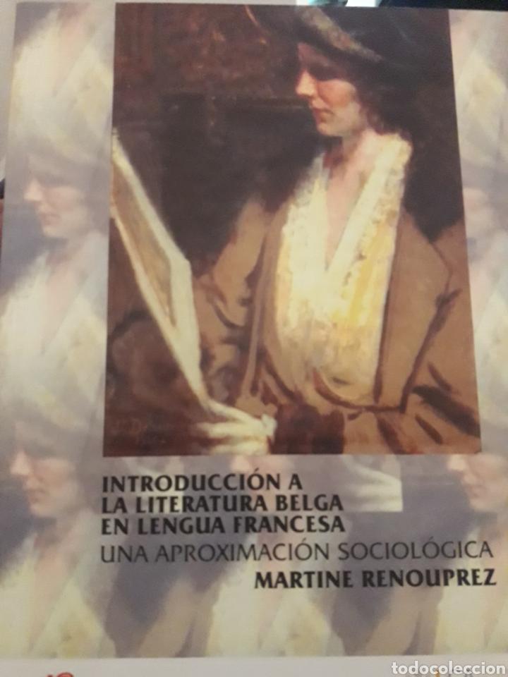 INTRODUCCIÓN A LA LITERATURA BELGA EN LENGUA FRANCESA (Libros Nuevos - Idiomas - Francés)
