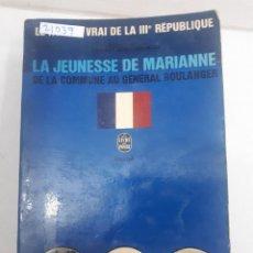 Libros: 21039 - LA JEUNESSE DE MARIANNE - POR GILBERT GUILLEMINAULT - AÑO 1958 - EN FRANCES. Lote 168427684