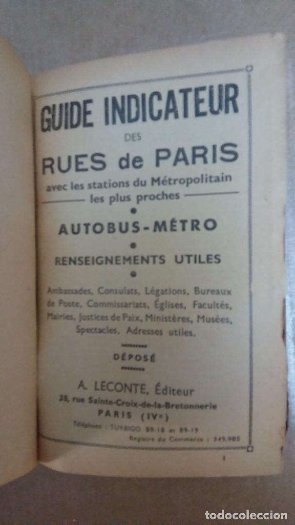 23096 - GUIDE INDICATUEUR DES RUES DE PARIS - EN FRANCES (Libros Nuevos - Idiomas - Francés)