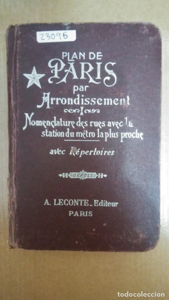 Libros: 23096 - GUIDE INDICATUEUR DES RUES DE PARIS - EN FRANCES - Foto 2 - 170481336