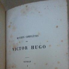 Libros: 23104 - HANS D'ISLANDE I - POR VICTOR HUGO - EDITION HETZEL - AÑO ? - EN FRANCES . Lote 170492528