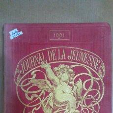 Libros: 23181 - LE JOURNAL DE LA JEUNESSE - PRMIER SEMESTRE - AÑO 1881. Lote 170904120