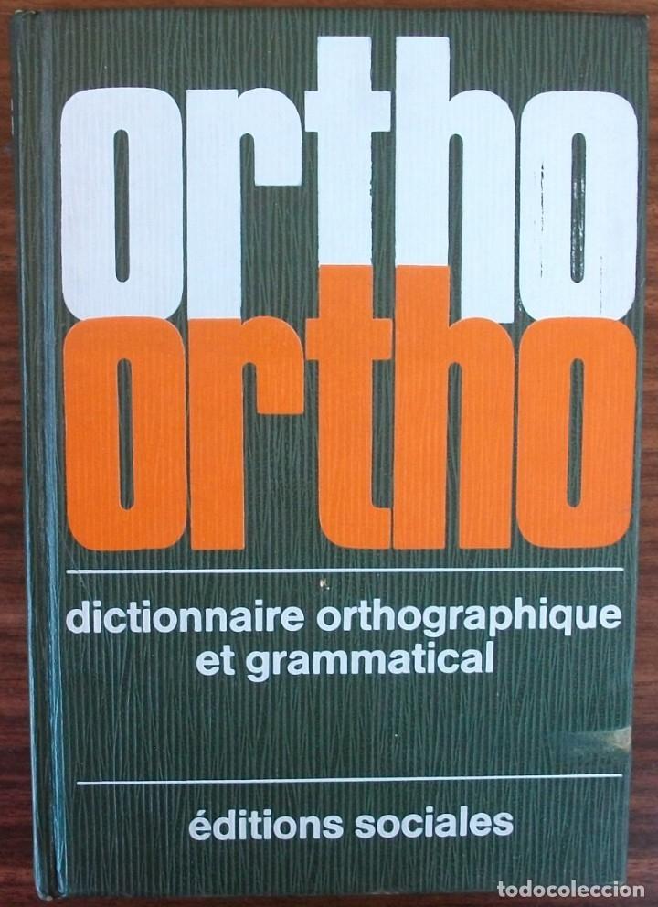 ORTHO VERT. DICTIONNAIRE ORTHOGRAPHIQUE ET GRAMMATICAL. ANDRÉ SÈVE (Libros Nuevos - Idiomas - Francés)