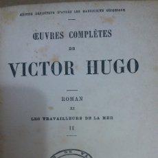 Libros: 35930 - LES TRAVAILLEURS DE LA MER II - POR VICTOR HUGO - EDITION HETZEL - AÑO ? - EN FRANCES . Lote 177974108