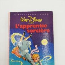 Libros: L' APPRENTIE SORCIERE WALT DISNEY 1972. Lote 178300378