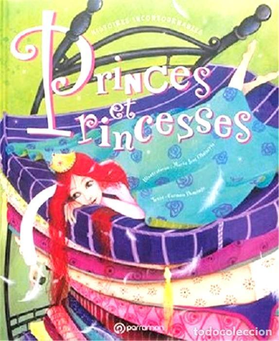 PRINCES ET PRINCESSES GRAN FORMATO TAPA DURA ACOLCHADO (Libros Nuevos - Idiomas - Francés)