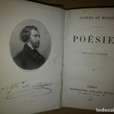 Libros: ALFRED MUSSET 1867. Lote 183461241