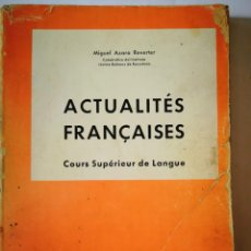Libros: ACTUALITES FRANCAISES. MIGUEL AZARA REVERTER. Lote 198555116