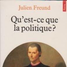 Libros: JULIEN FREUND - QU'EST-CE QUE LE POLITIQUE. Lote 207474091