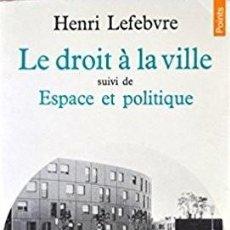 Livres: HENRI LEFEBVRE - LE DROIT À LA VILLE. Lote 207476493