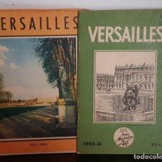 Libros: VERSALLES GUIA Y PLANO IDIOMA FRANCES. Lote 208811795