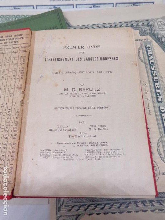 Libros: ¡¡¡ LOTE DE LIBROS Y DOCUMENTOS ANTIGUOS FRANCESES !!! - Foto 7 - 209095985