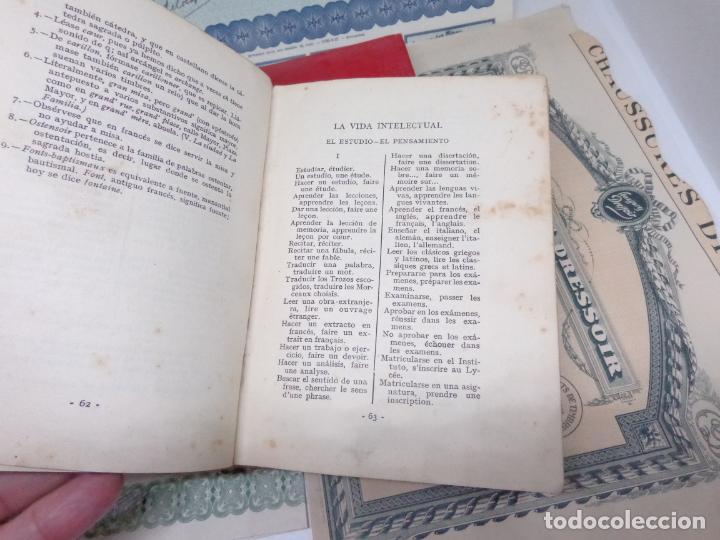 Libros: ¡¡¡ LOTE DE LIBROS Y DOCUMENTOS ANTIGUOS FRANCESES !!! - Foto 9 - 209095985