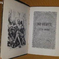 Libros: AÑO 1836 - 26 CM - DON QUIJOTE DE LA MANCHA - COMPLETO - 800 GRABADOS - ILUSTRADO POR TONY JOHANNOT. Lote 212081347