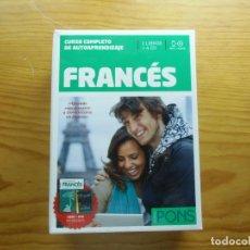 Libros: CURSO COMPLETO DE AUTOAPRENDIZAJE FRANCÉS. PONS. Lote 213476198