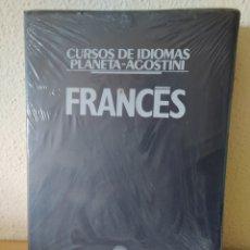 Libros: ARCHIVADOR PARA 8 CASETE CURSO FRANCÉS PLANETA AGOSTINI. PRECINTADO. Lote 217587928
