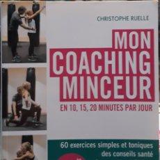 Libros: MON COACHING MINCEUR CHRISTOPHER RUELLE. Lote 226794565