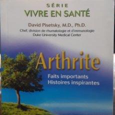 Libros: SERIE VIVRE EN SANTE ARTHITE. Lote 226795340