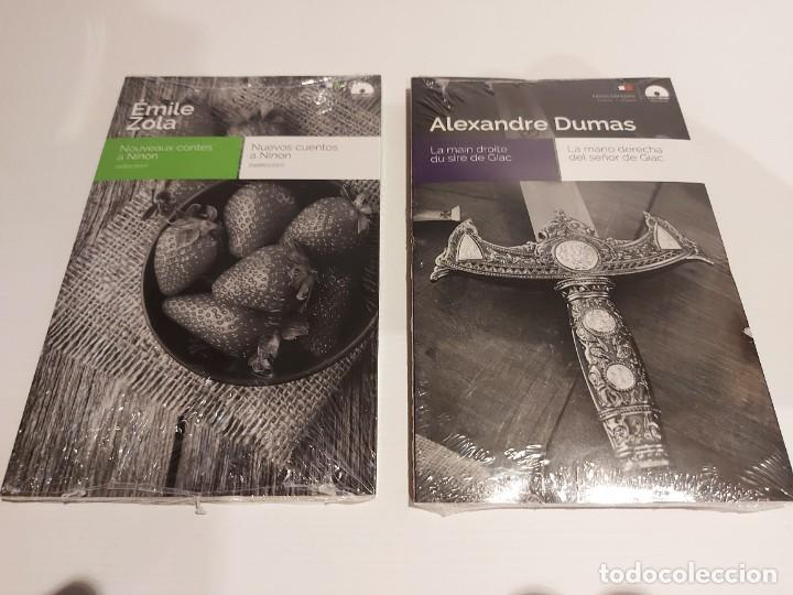 Libros: AUDIOBOOKS / LIBROS BILINGÜES / FRANCÉS-ESPAÑOL. LOTE DE 14 EJEMPLARES PRECINTADOS / OCASIÓN !! - Foto 2 - 227023665
