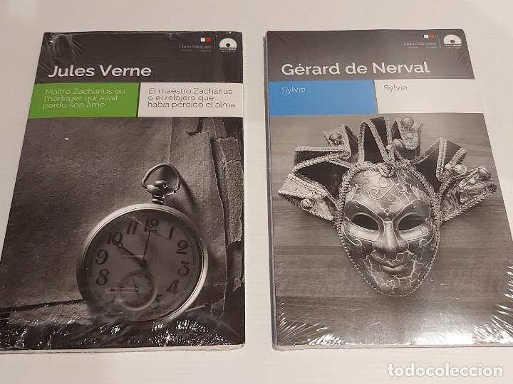 Libros: AUDIOBOOKS / LIBROS BILINGÜES / FRANCÉS-ESPAÑOL. LOTE DE 14 EJEMPLARES PRECINTADOS / OCASIÓN !! - Foto 5 - 227023665