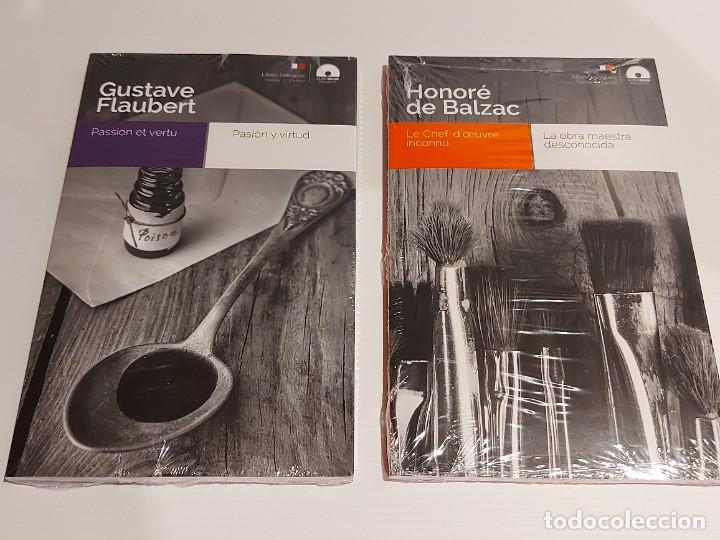 Libros: AUDIOBOOKS / LIBROS BILINGÜES / FRANCÉS-ESPAÑOL. LOTE DE 14 EJEMPLARES PRECINTADOS / OCASIÓN !! - Foto 7 - 227023665