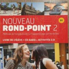 Libri: NOUVEAU ROND- POINT 2 B1. Lote 231259130