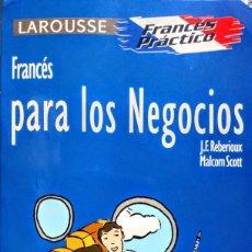 Libros: FRANCES PARA LOS NEGOCIOS. Lote 234779310