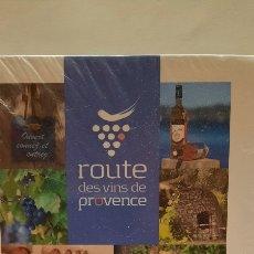 Libros: ROUTE DES VINS DE PROVENCE. GUIDE OFFICIEL. Lote 283109278