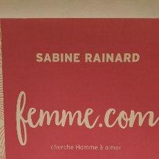 Libros: FEMME.COM. Lote 283109823