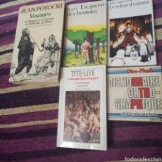 Libros: **FRANCÉS **LIBROS/NOVELA/DICCIONARIO EN FRANCÉS. Lote 283468043