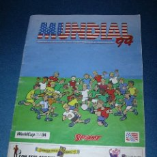 Coleccionismo deportivo: MUNDIAL 94 - GUIA COMPLETA DE JUGADORES Y EQUIPOS. Lote 26517356