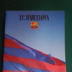 Coleccionismo deportivo: BARÇA : FOLLETO CORPORATIVO AÑOS 80. EN 4 IDIOMAS ( CASTELLANO, CATALÁN, INGLÉS Y FRANCÉS ). Lote 27439758
