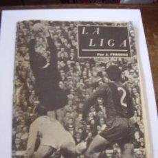 Coleccionismo deportivo: REVISTA LIGA DE FUTBOL TEMPORADA 1956-57. Lote 10745469
