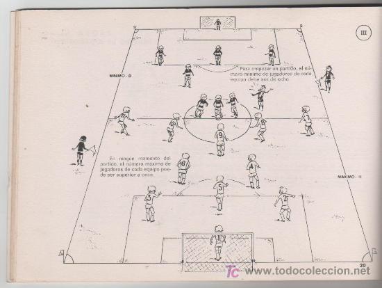 las reglas del futbol  ao 1969 editado por e  Comprar Libros