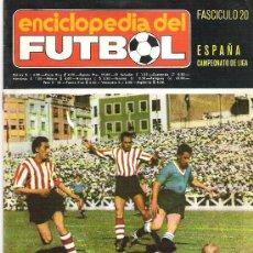 Coleccionismo deportivo: ENCICLOPEDIA DEL FUTBOL *** FASCICULO NUM 20 ****. Lote 18934842