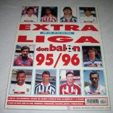 Coleccionismo deportivo: ANTIGUA REVISTA DON BALON EXTRA LIGA 95/96 - EN - . Lote 13385266