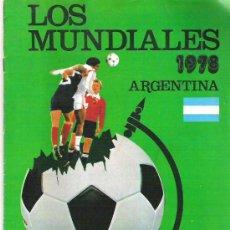 Coleccionismo deportivo: LOS MUNDIALES - COLECCION DE 26 FASCICULOS DEL AÑO 1981 PRE MUNDIAL DE ESPAÑA. Lote 19765221
