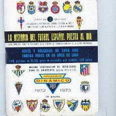 Coleccionismo deportivo: DINAMICO, TOMO 1 - 1972 / 1973- LA HISTORIA DEL FUTBOL ESPAÑOL PUESTA AL DIA. . Lote 23619423