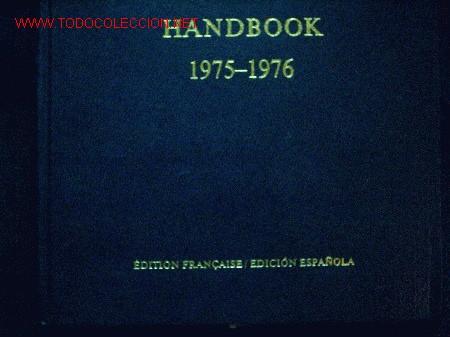 Coleccionismo deportivo: FIFA sobre la Federacion 1975-1976 escrito en Frances y en Español.Editado en Suiza - Foto 2 - 26863461