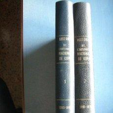 Coleccionismo deportivo: HISTORIA DEL CAMPEONATO NACIONAL DE COPA (2VOLS) ED.1970. Lote 25107553