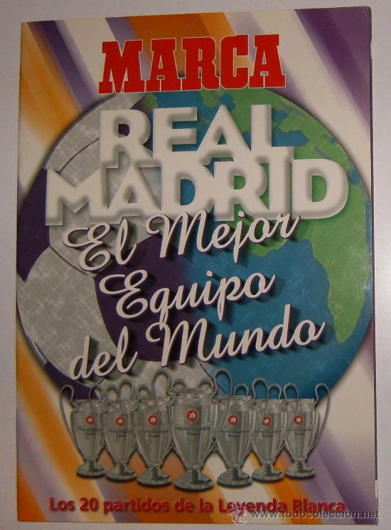 Coleccionablelibro Real Madrid El Mejor Equip Verkauft Durch