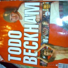 Coleccionismo deportivo: EXTRA INTERVIU TODO BECKHAM. Lote 26770335