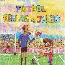 Coleccionismo deportivo: FÚTBOL. REGLAS DE JUEGO (ALBACETE, 2000). Lote 23183070